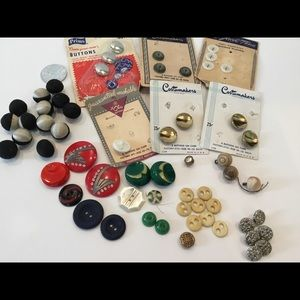 Other - Vintage Buttons Assorted Lot